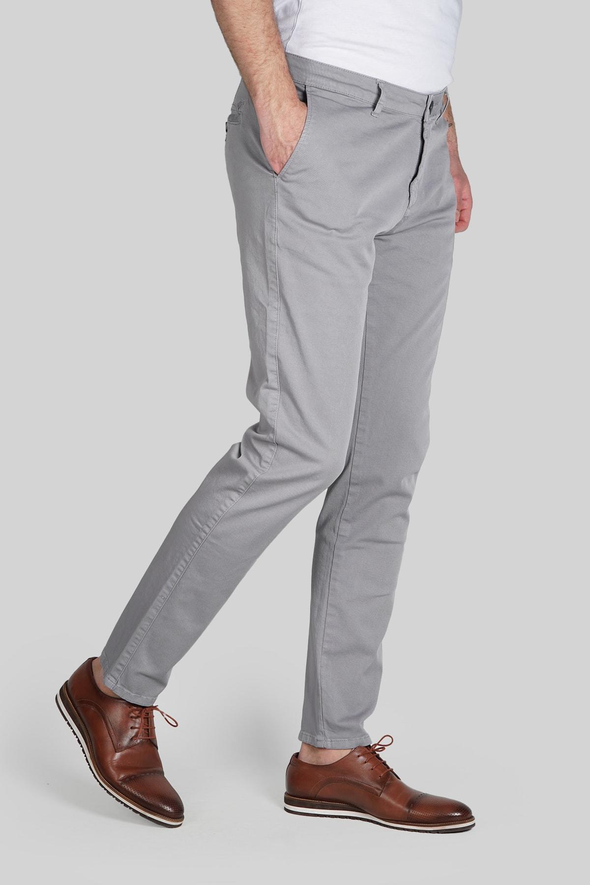 İgs Erkek Gri Dynamic Pantolon 2