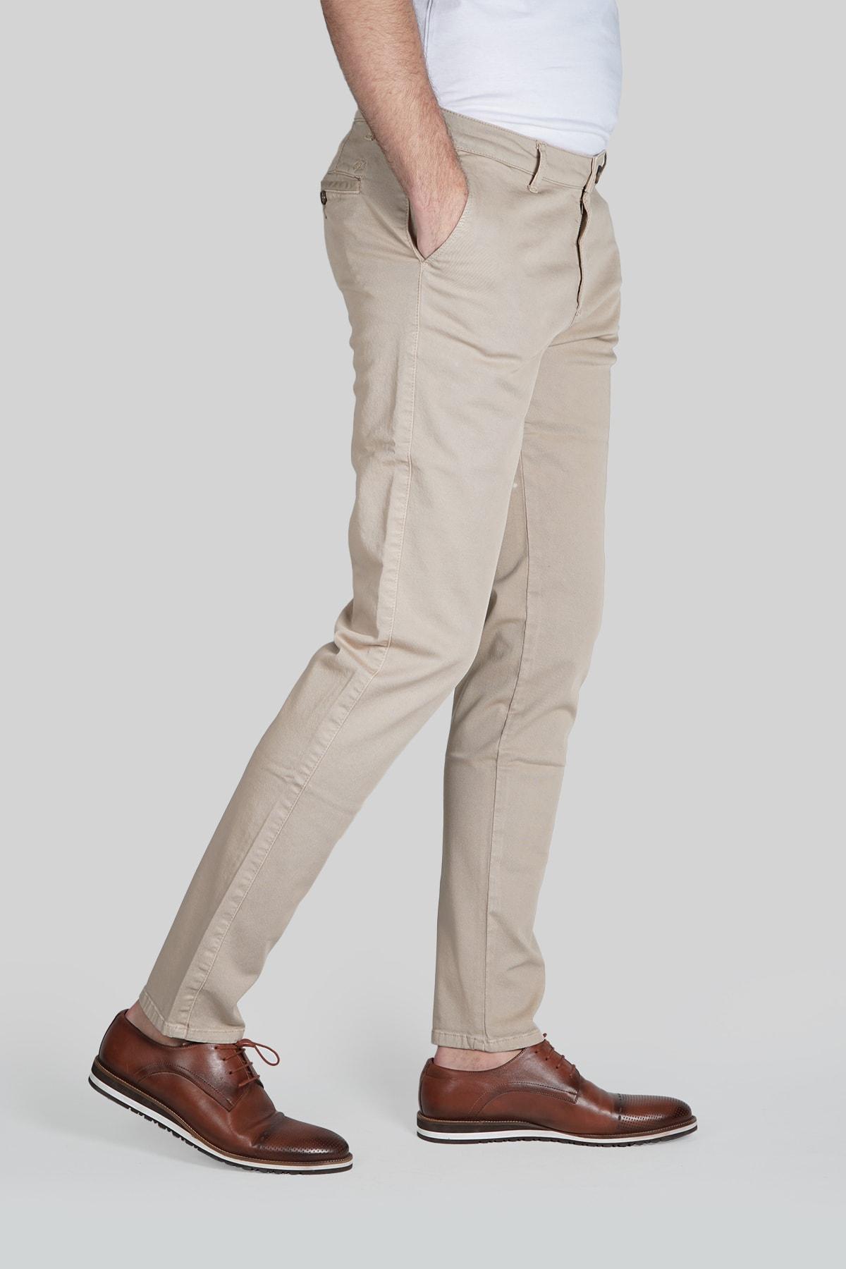 İgs Erkek Bej Dynamic Pantolon 1