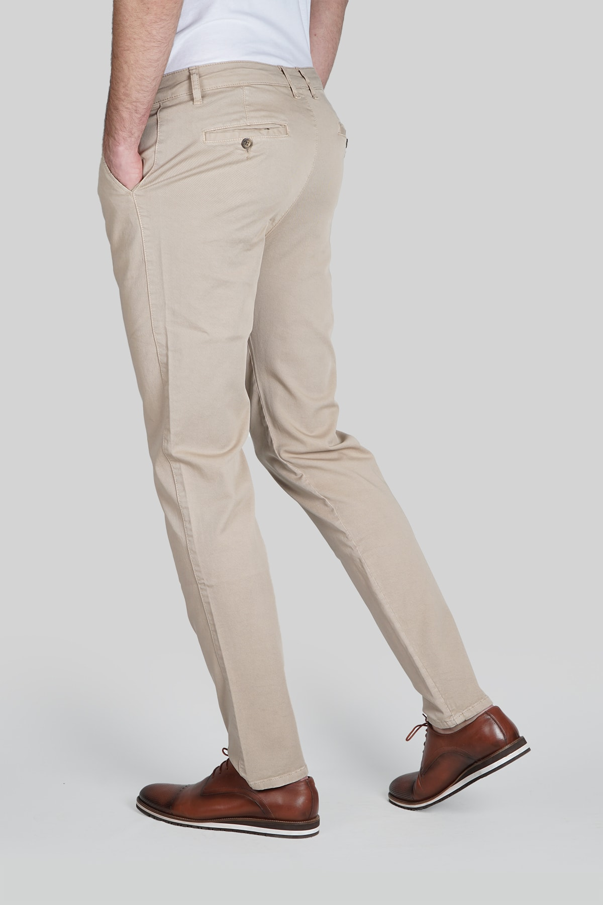 İgs Erkek Bej Dynamic Pantolon 2