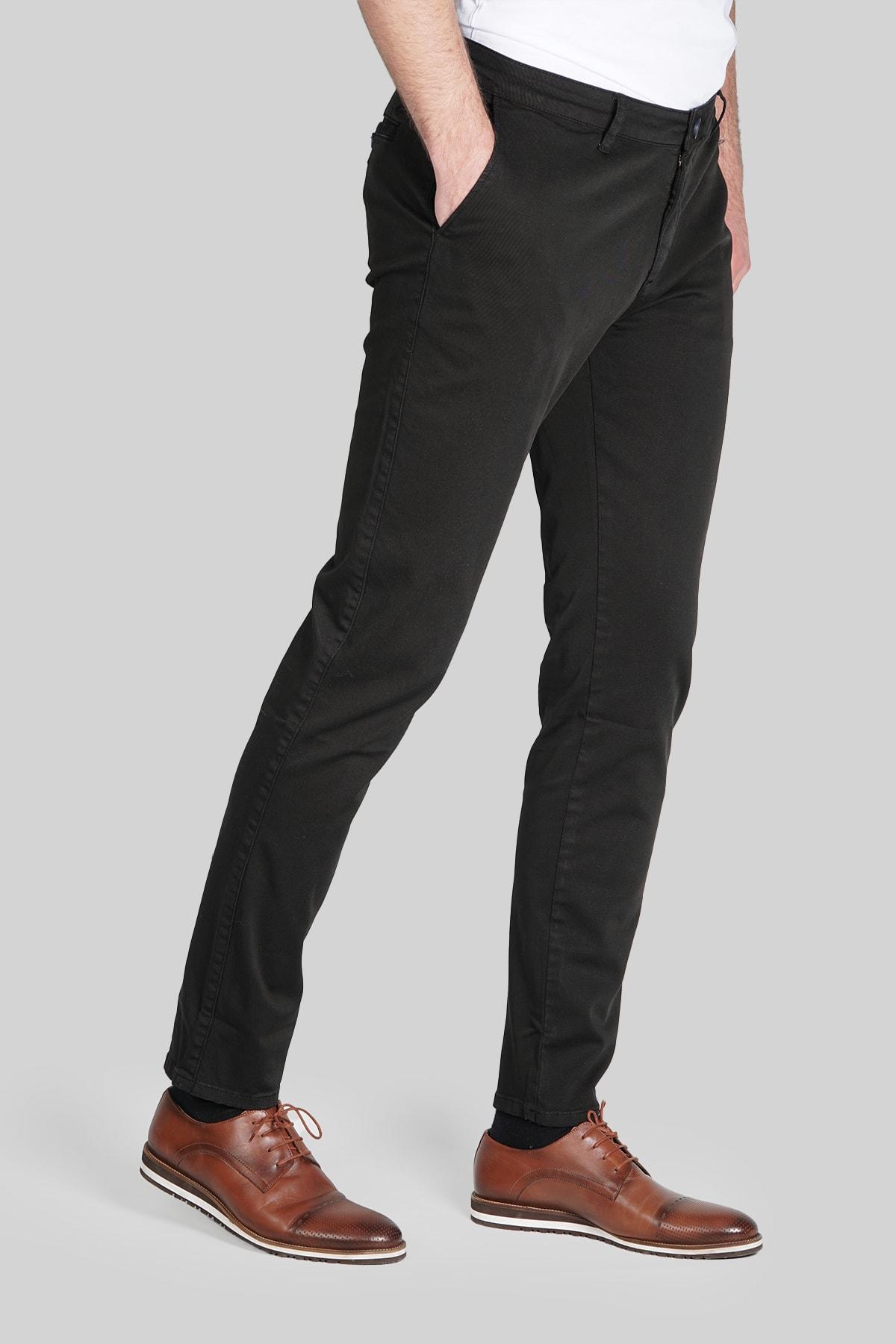 İgs Erkek Siyah Dynamic Pantolon 1
