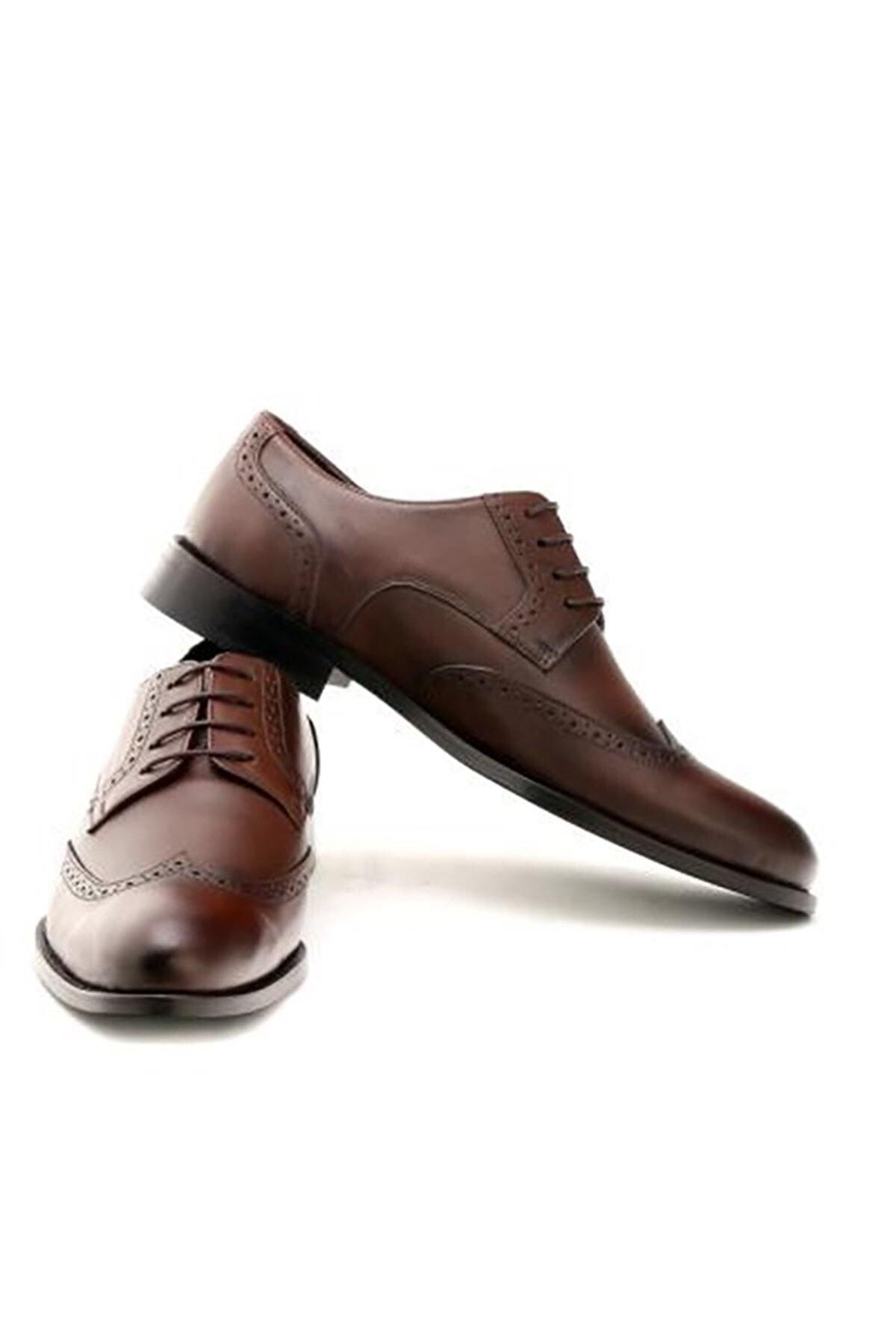 İgs Erkek Kahverengi Standart Std Ayakkabı 1