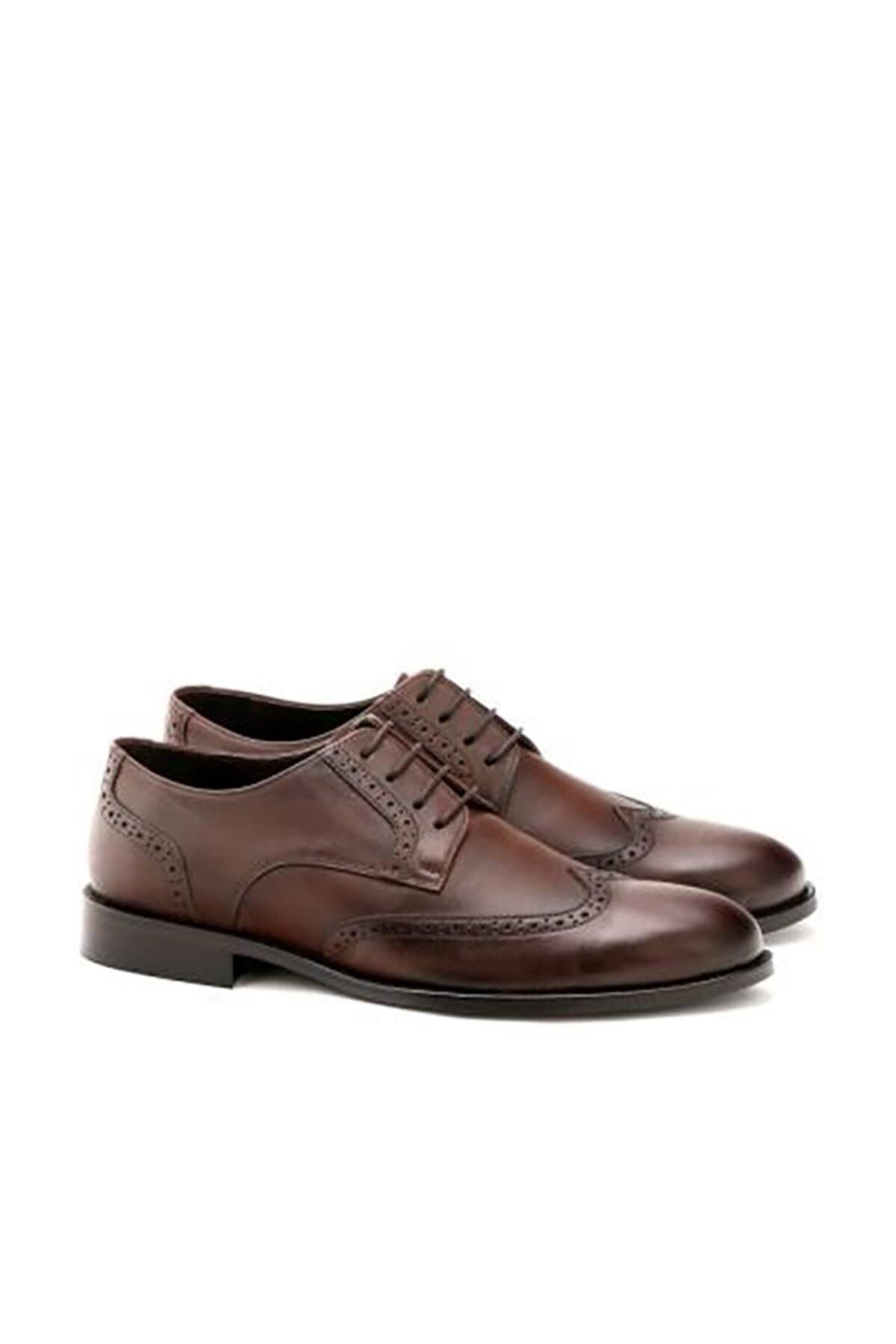 İgs Erkek Kahverengi Standart Std Ayakkabı 2