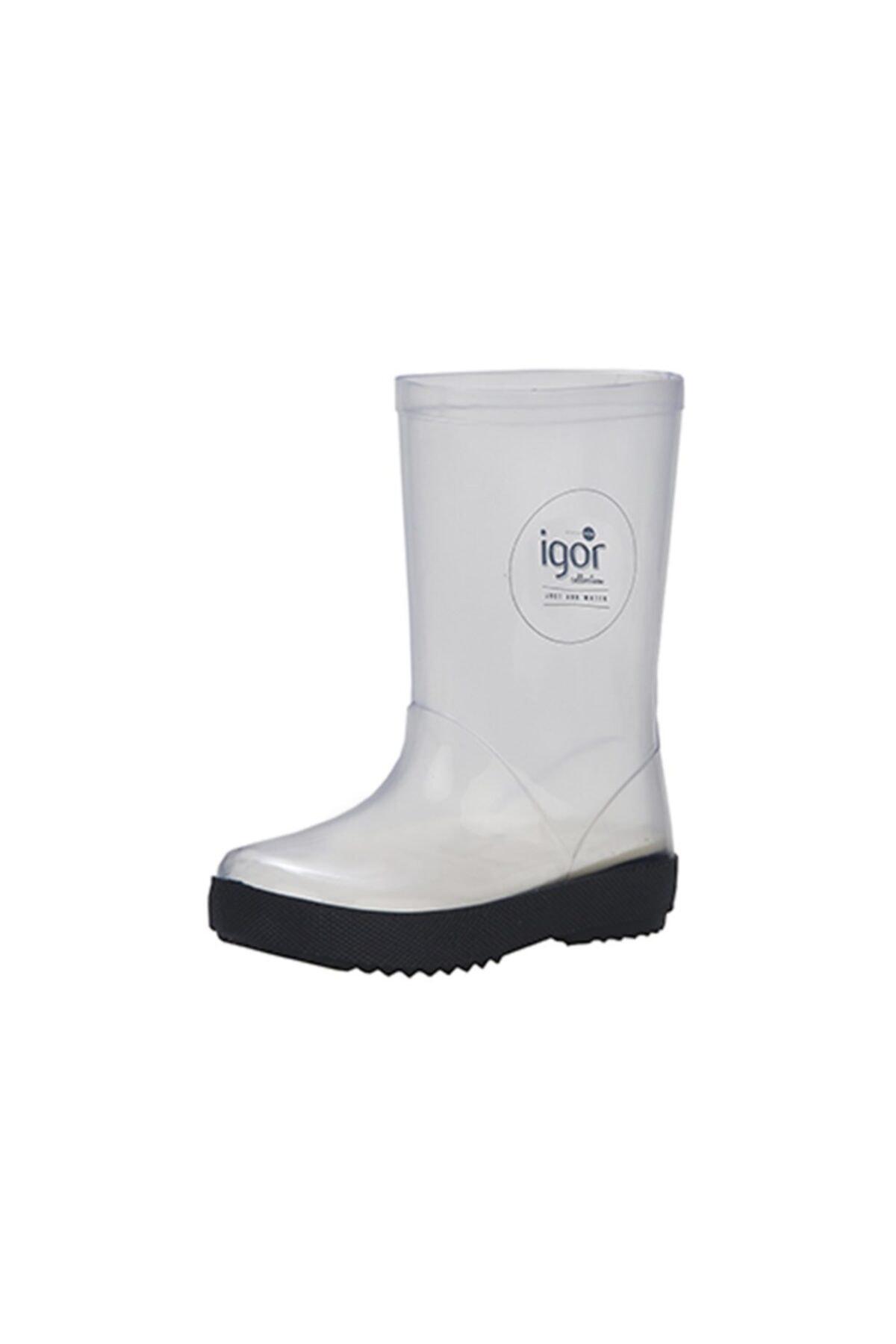 IGOR Kadın Beyaz Splash Cristal Yağmur Çizmesi 1
