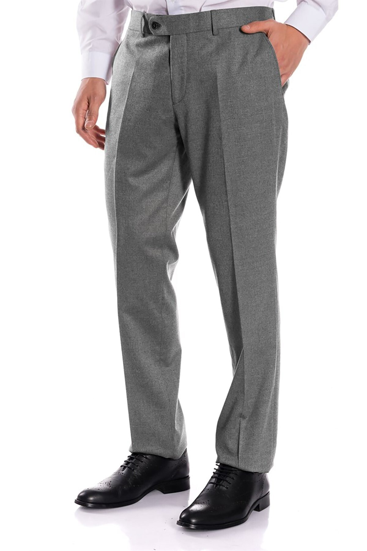 İgs Erkek Gri Regular Fit Pantolon 1