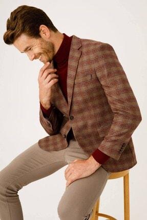 İgs Erkek Bej Barı Geniş Kalıp Ceket
