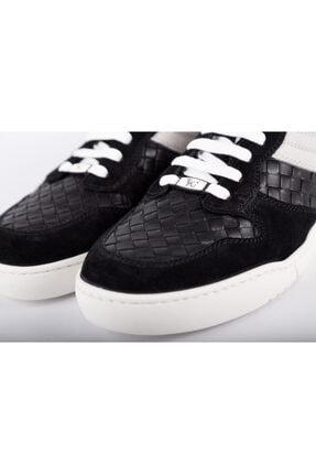 Bottega Veneta Erkek Siyah Sneakers