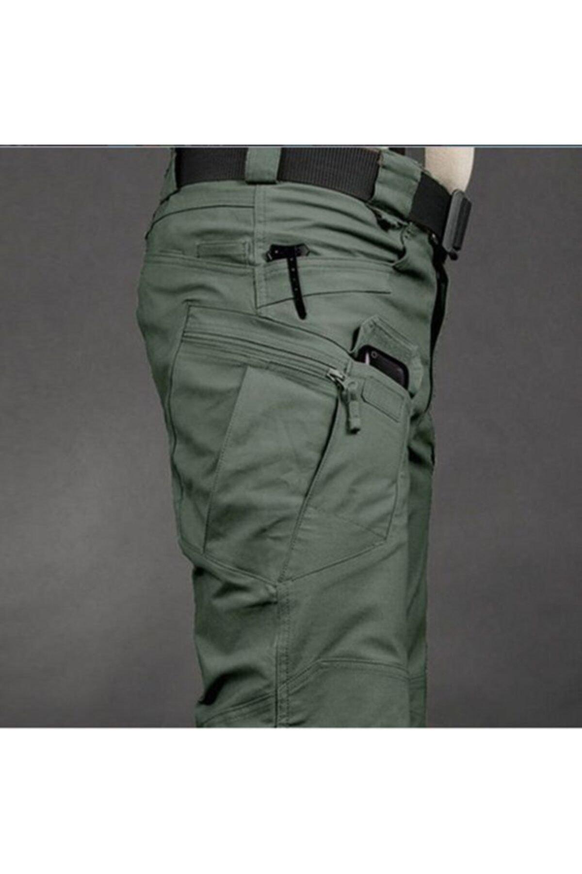 MONTANA TAKTİKAL Erkek Haki Yeşil Model Tactical Pantolon *32x32* 1