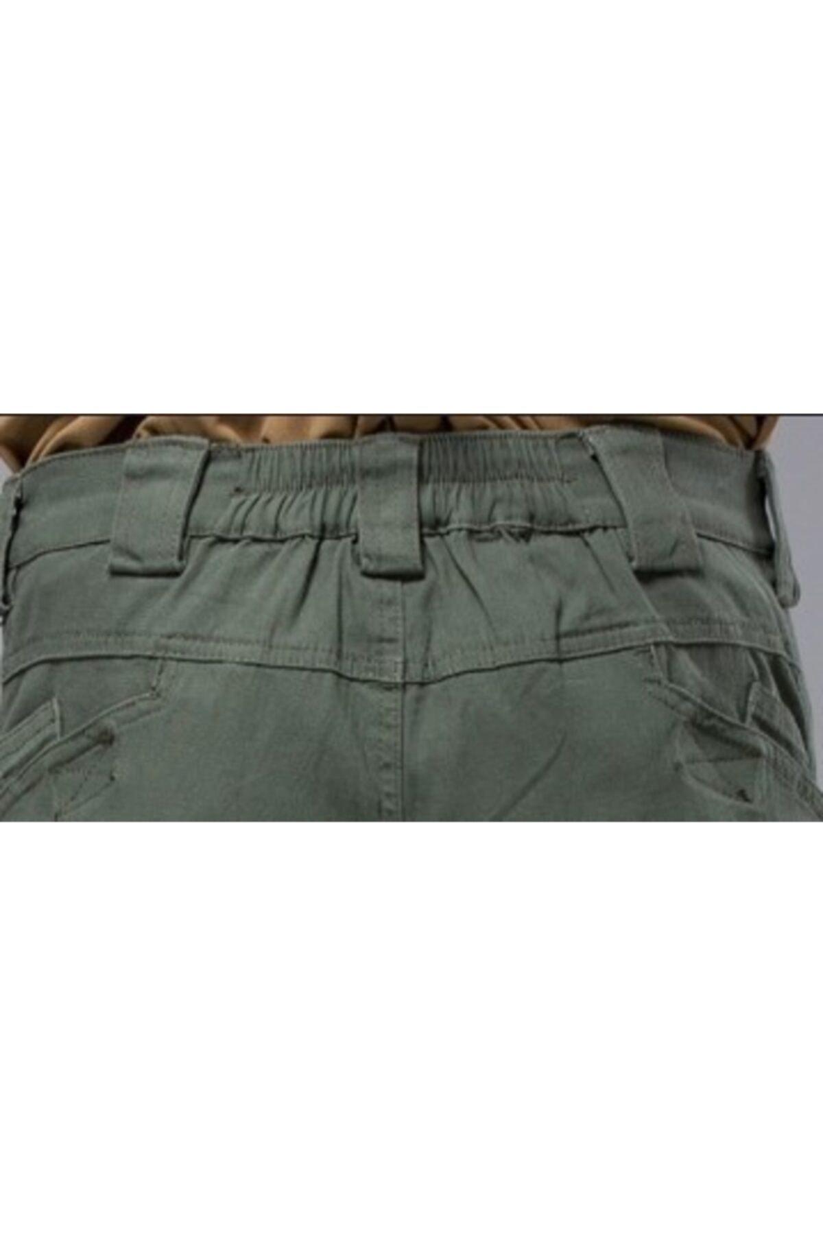 MONTANA TAKTİKAL Erkek Haki Yeşil Model Tactical Pantolon *32x32* 2