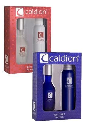Caldion Unisex 2li Parfüm Seti 100 ml Edt + 150 ml Deodorant