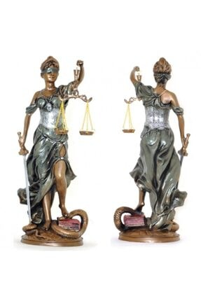 AYPARÇASI Adalet Terazisi Heykeli Themis Biblosu