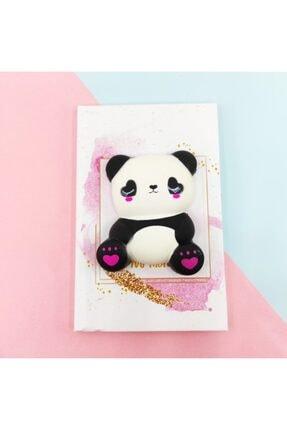 Şeker Ofisi Squishy Defter A5 Panda Yılbaşı Hediyesi