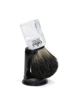 Omega Porsuk Kılı Sakal Tıraş Fırçası 33178 - Pure Badger