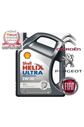 SHELL Helix Ultra Ap-l 5w30 5 Litre Acea C2 Dpf Onaylı