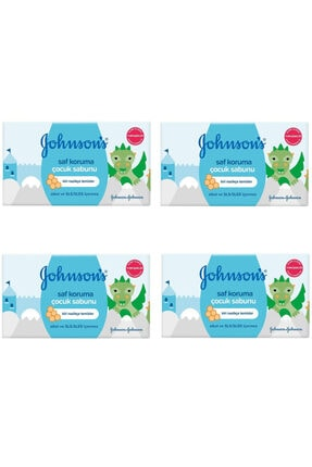Johnson's Saf Koruma Çocuk Sabunu 100 Gr 4 Lü Paket