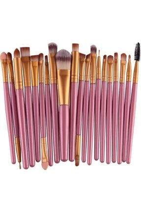 Makeuptime Izla 20'li Profesyonel Yumuşak Makyaj Fırça Seti Mor Renk