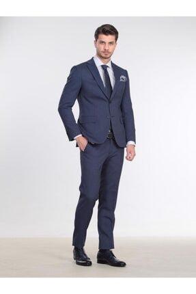 Kip Erkek Antrasit Micro Dokuma Takım Elbise