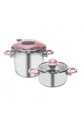 Karaca Trendyol Perfect Pink 4+6 lt Düdüklü Tencere Seti