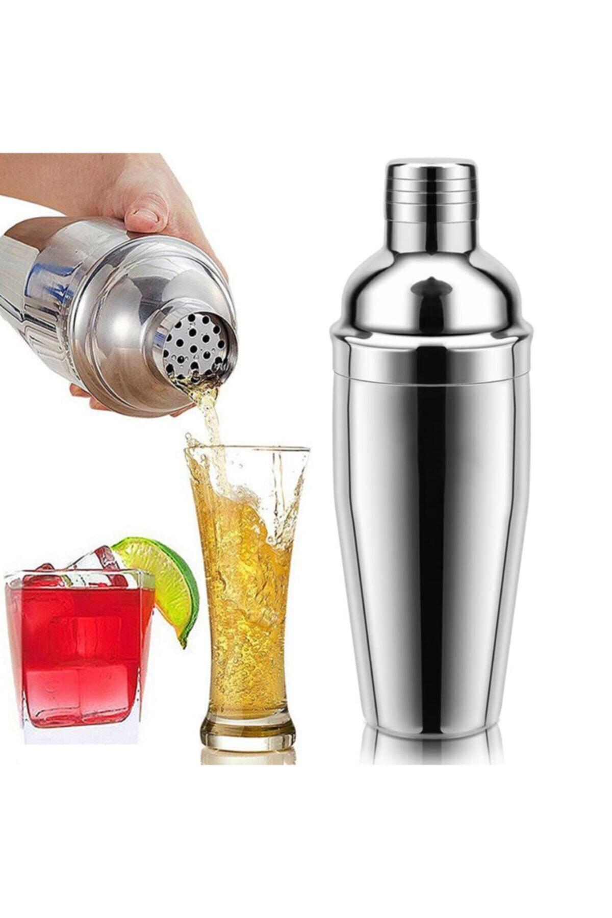 Leva House Çelik Kokteyl Shaker Biradlı 700 Cl 1