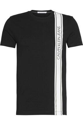 Calvin Klein Erkek Siyah Kısa Kollu Tshirt