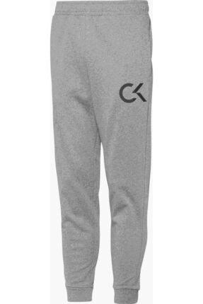 Calvin Klein Erkek Gri Knıt Pant Eşofman Altı