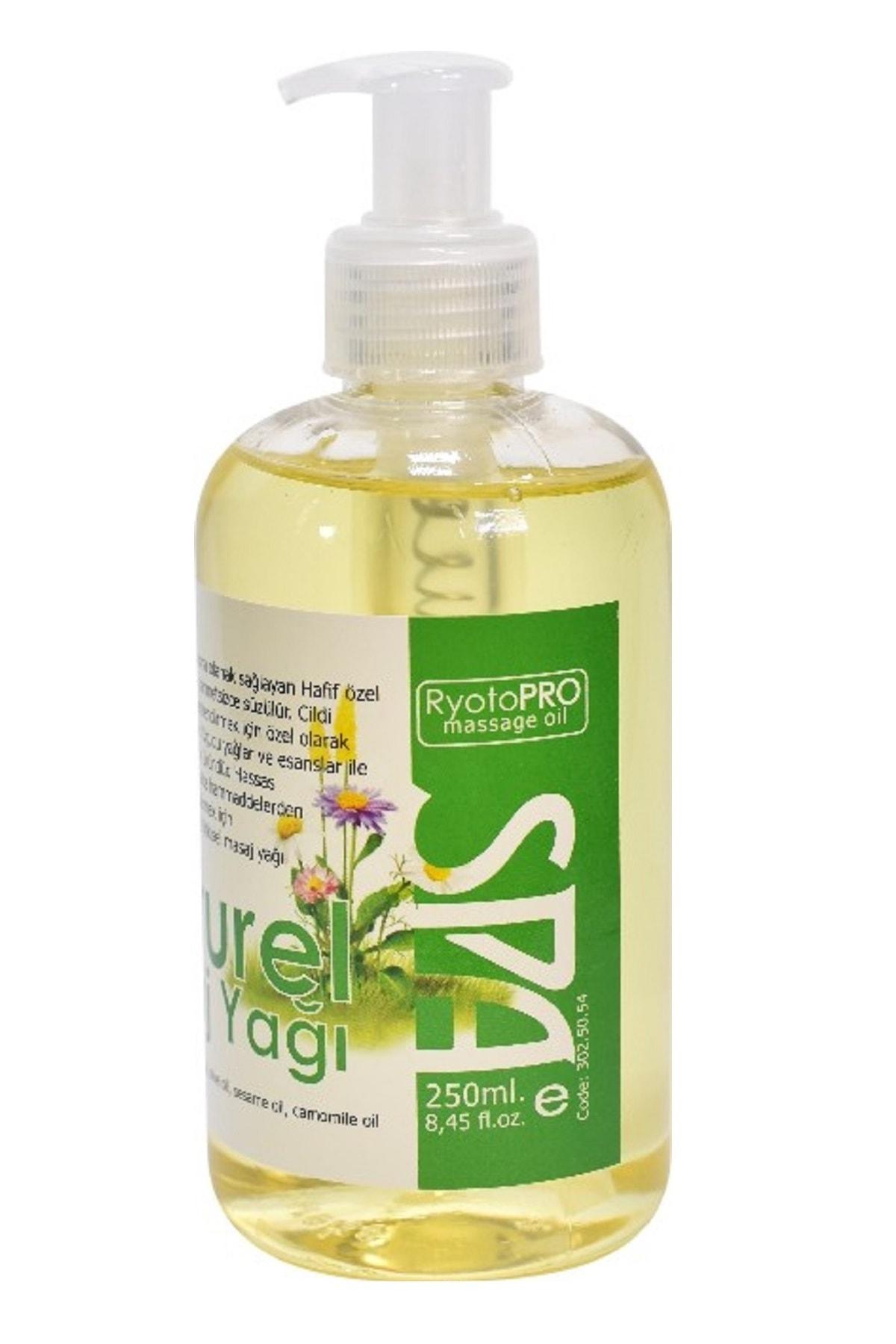 RyotoPRO Biberiye Aromaterapi Masaj Yağı 250 ml 1