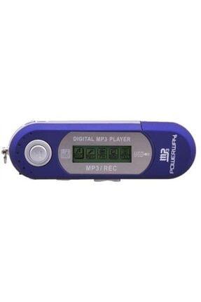 POWERWAY Pw01 Fm Radyolu Pilli 4gb Dahili Hafızalı Usb Girişli Müzik Mp3 Player Çalar