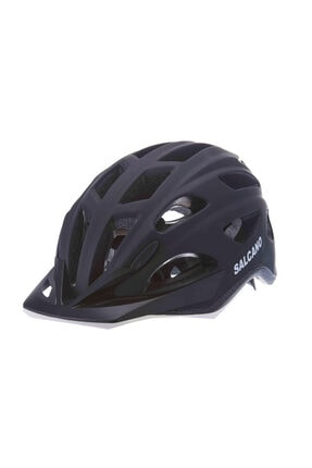 Salcano Yetişkin Bisiklet Kaskı Işıklı S291 Siyah Mediım