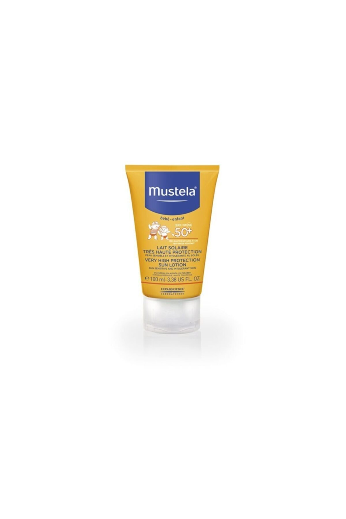 Mustela Very High Protection Sun Lotion Spf  100 Ml 1