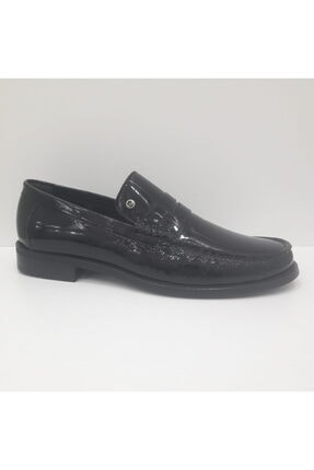 Pierre Cardin Erkek Siyah Hakiki Deri Rugan Loafer Ayakkabı