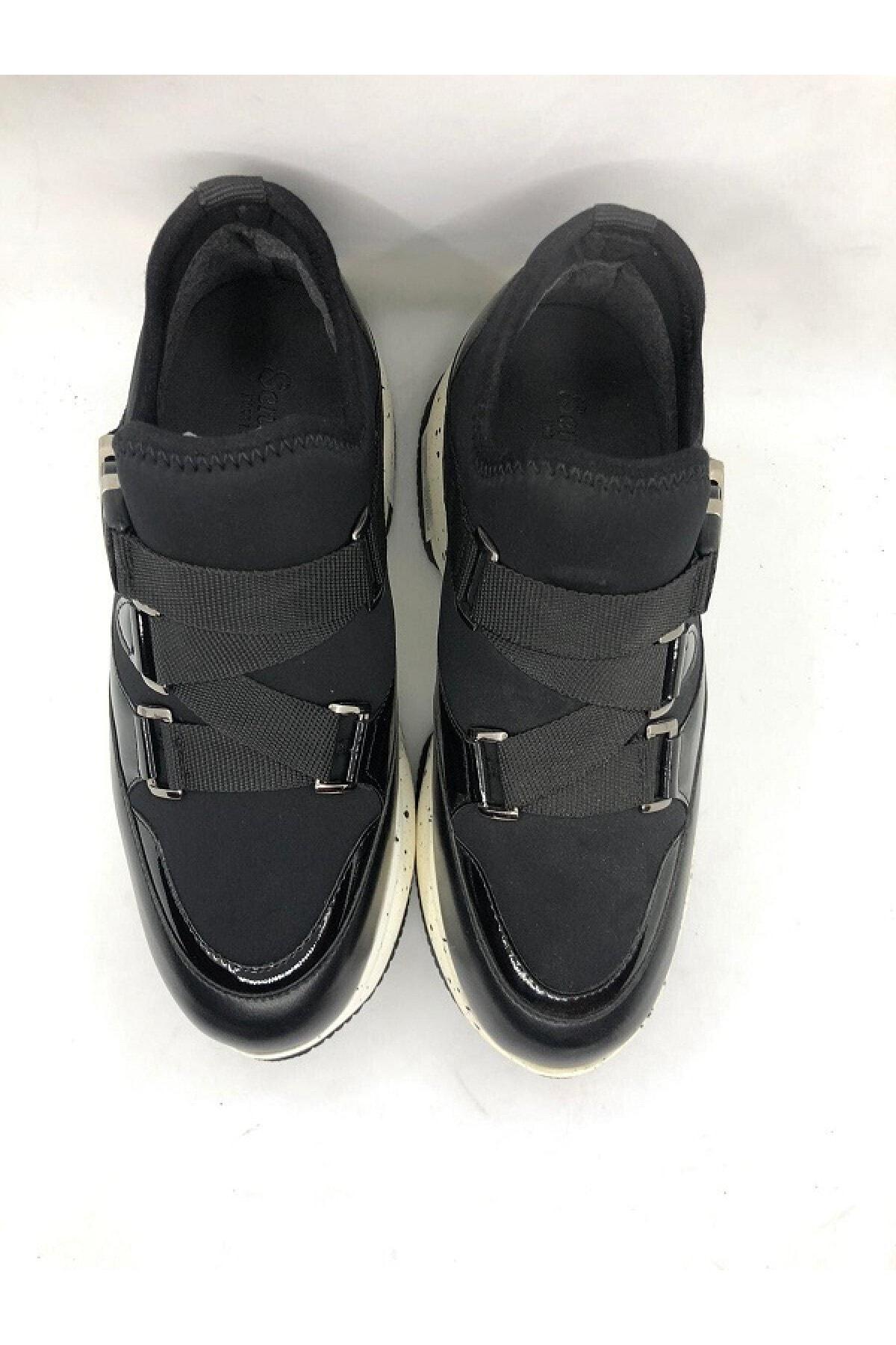 Seniorah Kadın Siyah Spor Ayakkabı 2