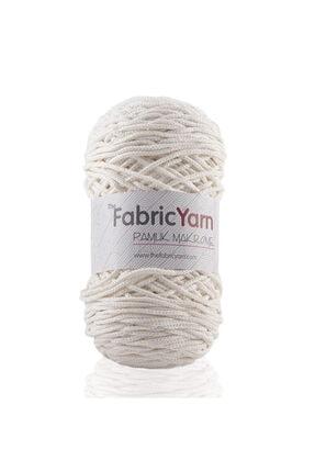 The Fabric Yarn Krem Pamuk Makrome Ip