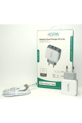 OPPA Iphone-ipad-ipod Şarj Aleti-adaptive Dual Charger Kit 2.4a