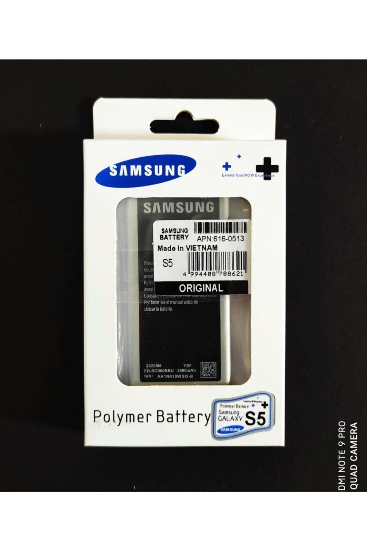 Samson Samsung Galaxy S5 I9600 S5 Orjinal Batarya Pil 2800 Mah Made In Vietnam (jokey Gsm) 1