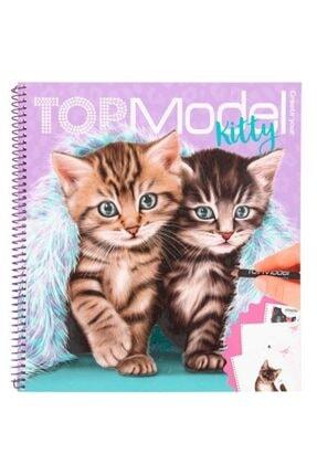 Top Model Create Your Kitty Boyama Defteri