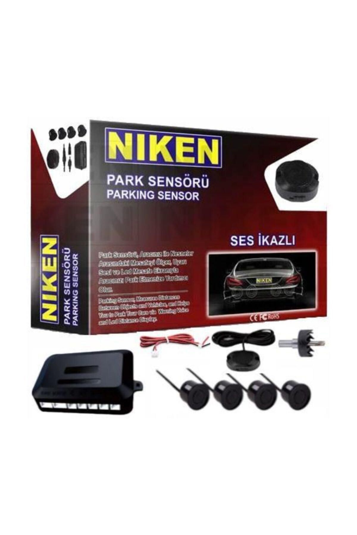 Niken Park Sensörü Ses Ikazlı Orj Tip 22 Mm Siyah Sensör 1