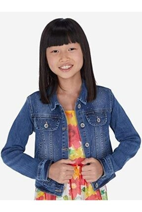 MAYORAL Kız Çocuk Kot Ceket
