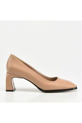 Hotiç Kadın Bej Naturel Ayakkabı
