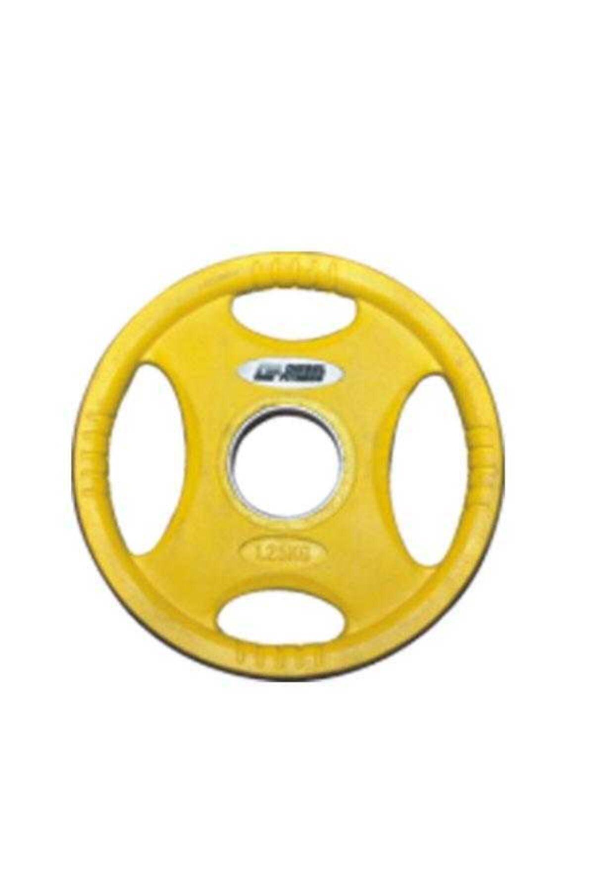 Diesel Fitness Sarı Fitness Rop4 Kauçuk Flanş 1,25 kg 1