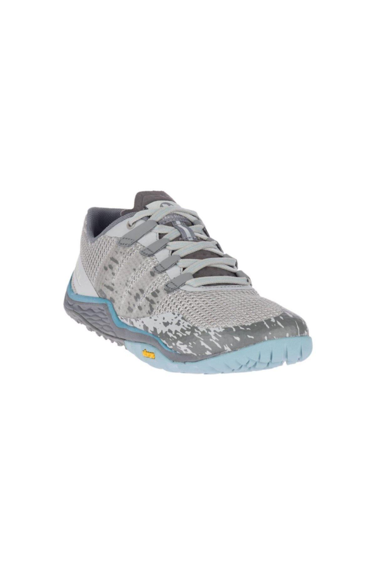 Merrell Kadın Gri Trail Glove 5 Koşu Ayakkabısı 2