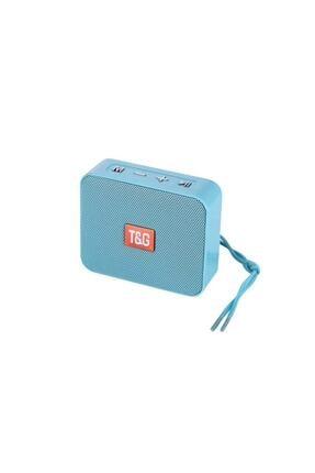 TG Bluetooth Hoparlör Kablosuz Speaker Ses Bombası 166 Açık Mavi