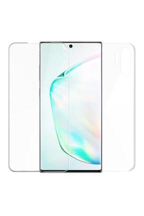 Microsonic Microsonic Galaxy Note 10 Plus Ön + Arka Kavisler Dahil Tam Ekran Kaplayıcı Film