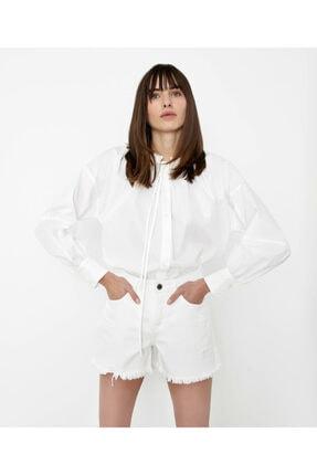 İpekyol Kadın Beyaz Gömlek