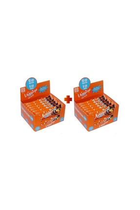 Uniq2Go Chocolight Portakal Parçacıklı Bar 16'lı 2 Kutu (32 Adet)
