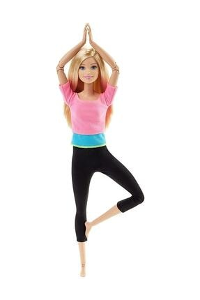Barbie Sonsuz Hareketler Oyuncak Bebek Pembe