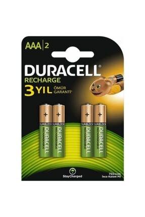 Duracell 750 Mah 4lü Aaa Şarjlı Ince Pil