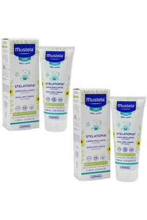 Mustela Stelatopia Emollient Cream 2'li Paket