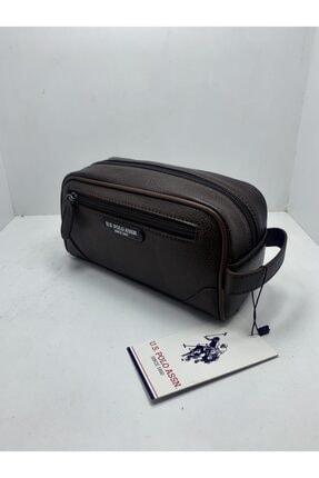 U.S. Polo Assn. Unisex Kahverengi El Çantası