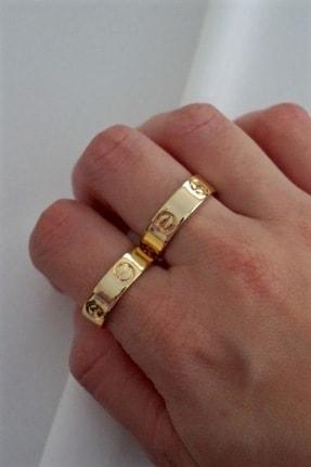 By Meriç Cartier Model Altın Renk Ayarlanabilir Yüzük