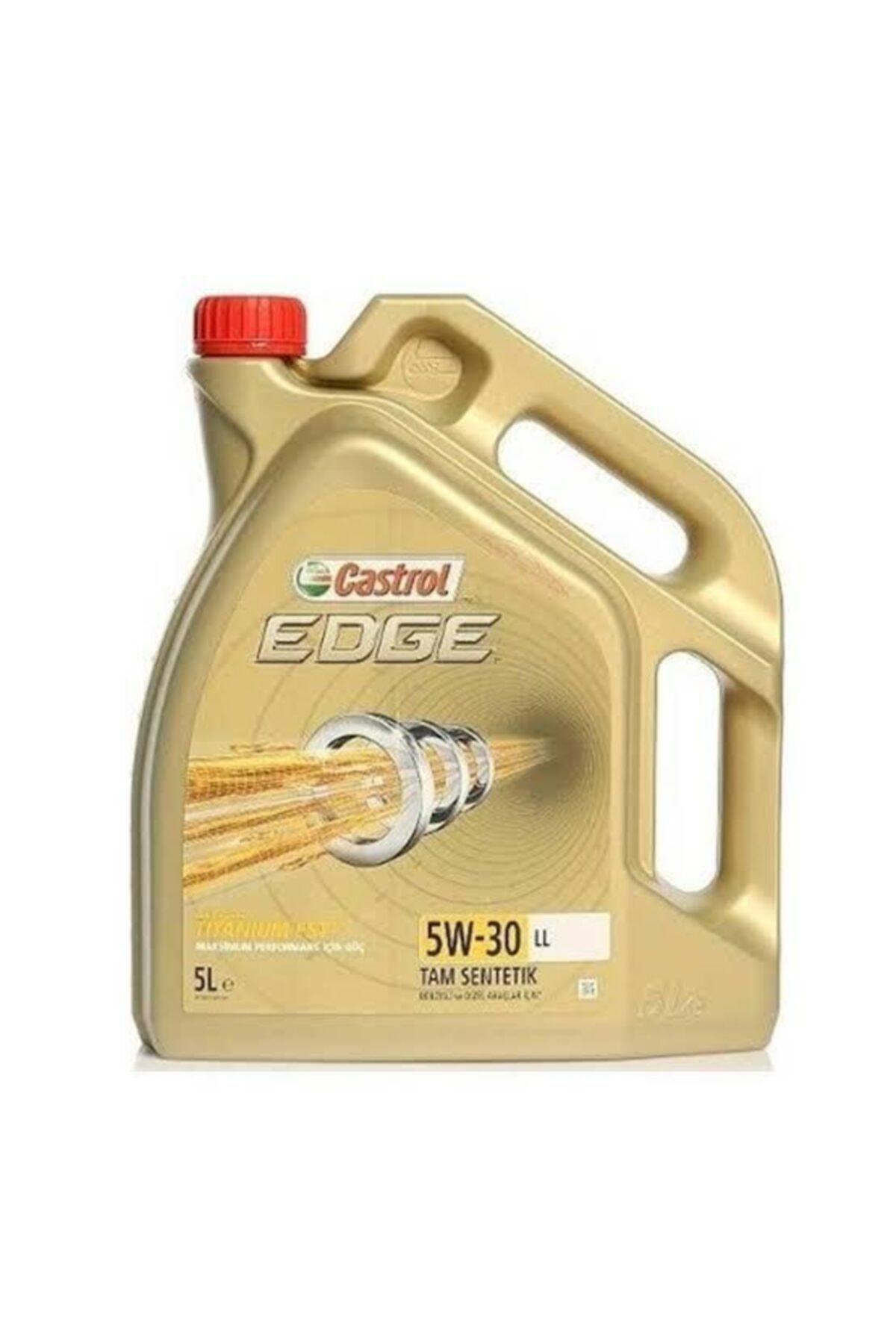 Castrol Yayınları Castrol Edge Ll 5w30 Titanyum 5 Litrelik Motor Yağı 1