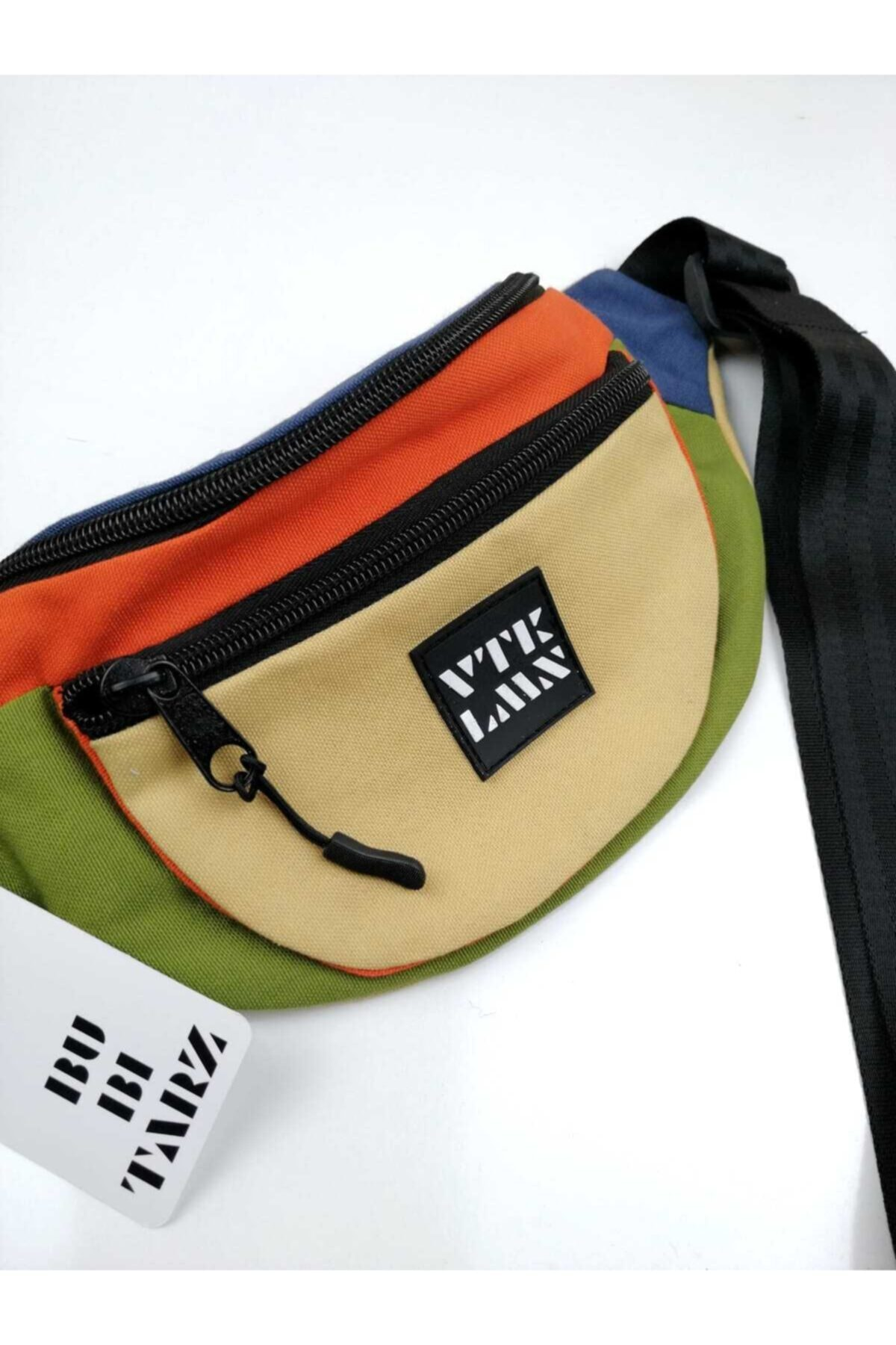 Vatkalimon Unisex Renkli Omuz Ve Bel Çantası 2